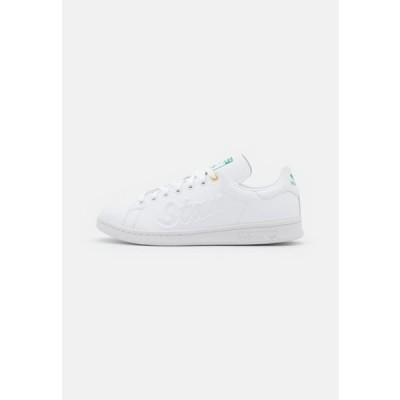 アディダス レディース 靴 シューズ STAN SMITH - Trainers - footwear white/green