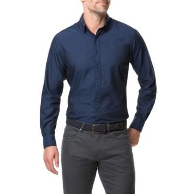 ロッドアンドガン メンズ シャツ トップス Glenpark Regular Fit Button-Down Shirt MIDNIGHT