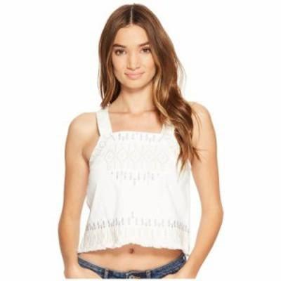 ブランクニューヨーク その他シャツ Embroidered Sleeveless Shirt in Snow Flake Snow Flake
