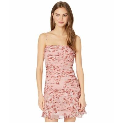 バードット ワンピース トップス レディース Remi Floral Dress Floral Peach