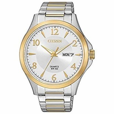 CITIZEN シチズン BF2005-54A Mens Quartz Watch Silver/Gold Stainless メンズ シルバー/ゴ