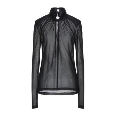 パトリティア ペペ セーラ PATRIZIA PEPE SERA T シャツ ブラック 0 アセテート 80% / ナイロン 20% T シャツ
