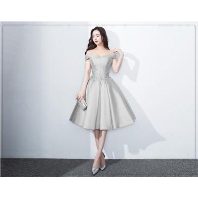 送料無料 花嫁ドレス パーティードレス 二次会ドレス ショートドレス イブニングドレス キャバ嬢ドレス