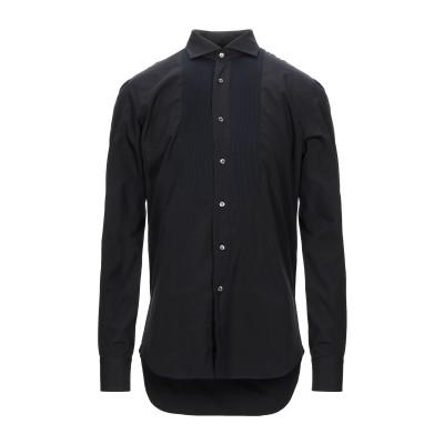 VANGHER N.7 シャツ ブラック 41 コットン 100% シャツ