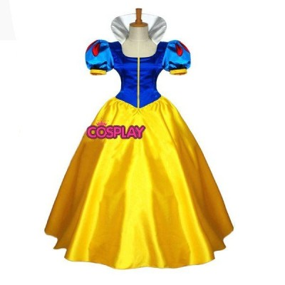 豪華版コスプレ白雪姫衣装ディズニーコスプレ衣装 ウイッグ付き