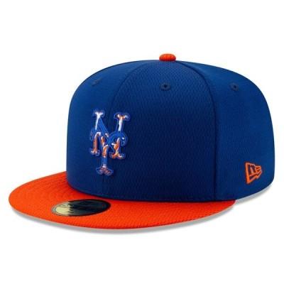 MLB ニューヨーク・メッツ キャップ/帽子 2020 キャンプ バッティング プラクティス 59FIFTY ニューエラ/New Era ゲーム【平つば キャップ 特集】