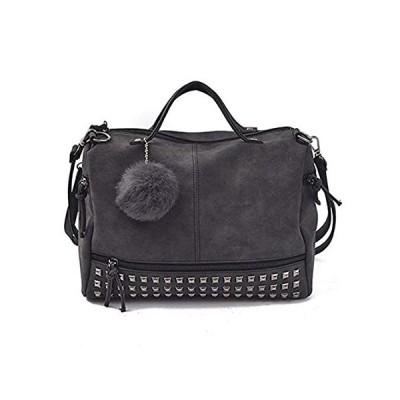 Women Purses and Handbags Rivet Crossbody Purse Hobo Bag Leather Studded To