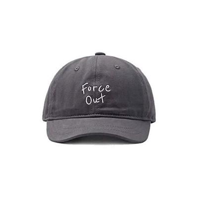 Lovechic  帽子 キャップ メンズ ツバ短め おしゃれ 人気 かっこいい帽子 56-59cm lc001-ダークグレー