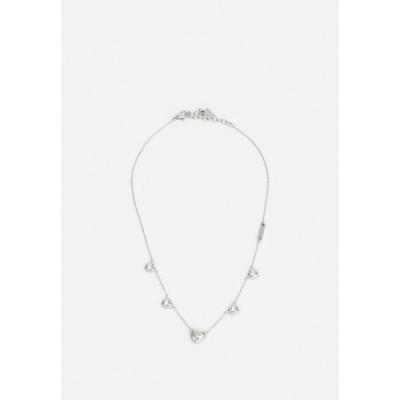 ゲス ネックレス・チョーカー・ペンダントトップ レディース アクセサリー IS FOR LOVERS - Necklace - silver-coloured
