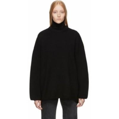トーテム Toteme レディース ニット・セーター トップス black noma sweater Black