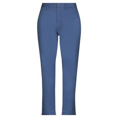 POLO RALPH LAUREN パンツ ブルーグレー 2 コットン 99% / ポリウレタン 1% パンツ