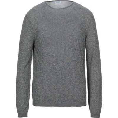 ヘリテイジ HERITAGE メンズ ニット・セーター トップス Sweater Steel grey