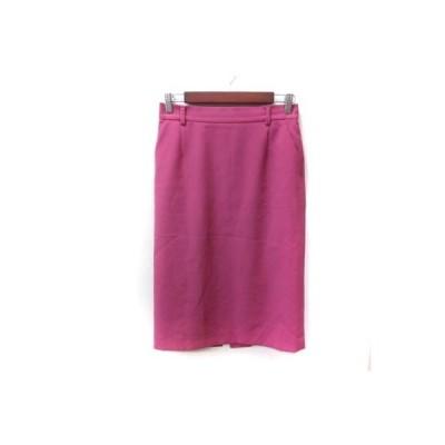【中古】ボッシュ BOSCH タイトスカート ミモレ ロング 38 ピンク /YI レディース 【ベクトル 古着】