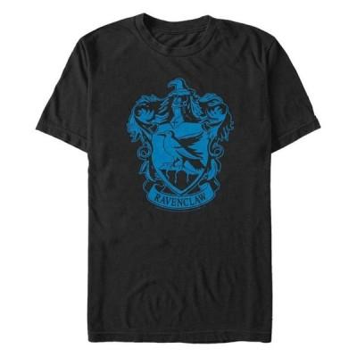 フィフスサン メンズ Tシャツ トップス Harry Potter Men's Simple Ravenclaw Crest Short Sleeve T-Shirt
