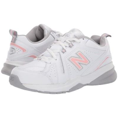 ニューバランス New Balance レディース スニーカー シューズ・靴 WX608v5 White/Pink