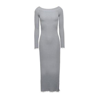 RORY LONGDON ロングワンピース&ドレス ダークブルー S レーヨン 65% / ナイロン 35% ロングワンピース&ドレス