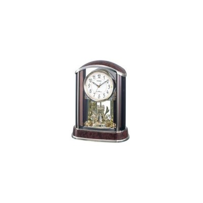 リズム時計 電波置き時計 「パルアモールR658N」 4RY658-N23 [振込不可]