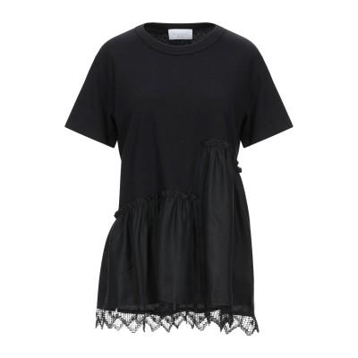 パロッシュ P.A.R.O.S.H. T シャツ ブラック S コットン 100% / シルク / ポリエステル T シャツ