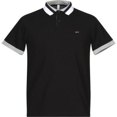 サン シックスティーエイト SUN 68 メンズ ポロシャツ トップス polo shirt Black
