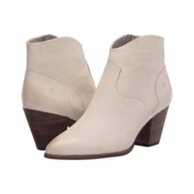 Frye フライ レディース 女性用 シューズ 靴 ブーツ アンクル ショートブーツ Reed Bootie Ivory Nubuck【送料無料】