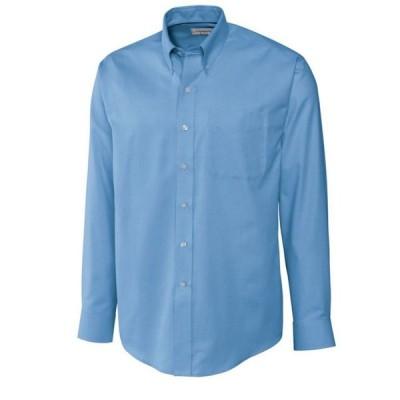 カッター&バック Cutter & Buck メンズ シャツ トップス Big & Tall Long Sleeves Epic Easy Care Nailshead Shirt Blue