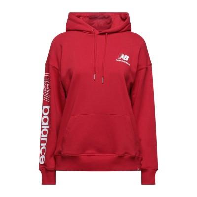 ニュー・バランス NEW BALANCE スウェットシャツ レッド XS コットン 64% / ポリエステル 36% スウェットシャツ