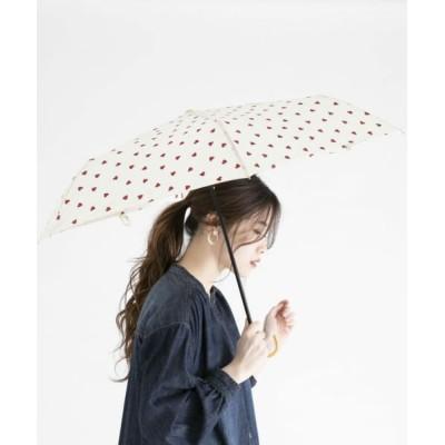 ameme/アメメ ブルージュ折り畳み傘 ハートオフ FREE