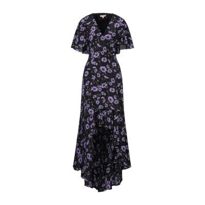 マイケル・コースコレクション MICHAEL KORS COLLECTION ロングワンピース&ドレス パープル 2 シルク 100% ロングワンピ