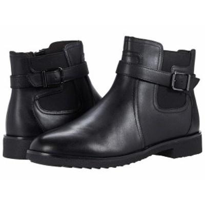 クラークス レディース ブーツ・レインブーツ シューズ Griffin North Black Leather
