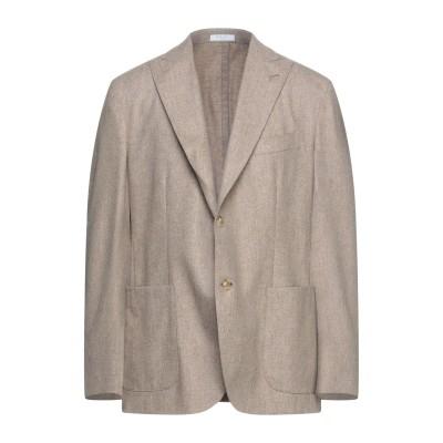ボリオリ BOGLIOLI テーラードジャケット サンド 54 バージンウール 100% テーラードジャケット