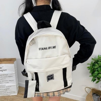 BULLANG GIRL レディース バックパック Stan webbing backpack with pouch