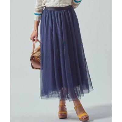 Viaggio Blu / チュールブロックチェックスカート WOMEN スカート > スカート