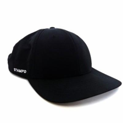 【中古】スタンプド STAMPD Matte Nylon Sport Cap キャップ 帽子 ブラック 黒 USA製 メンズ
