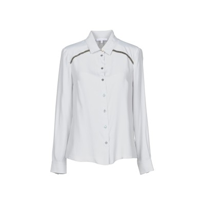 パトリツィア ペペ PATRIZIA PEPE シャツ グレー 42 アセテート 76% / シルク 24% シャツ