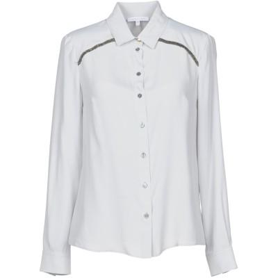 パトリツィア ペペ PATRIZIA PEPE シャツ グレー 40 アセテート 76% / シルク 24% シャツ