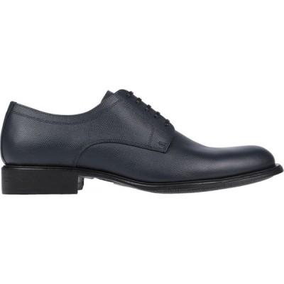 ドルチェ&ガッバーナ DOLCE & GABBANA メンズ シューズ・靴 laced shoes Dark blue