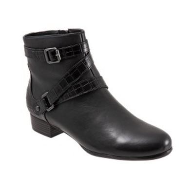 ブエノ レディース ブーツ&レインブーツ シューズ Trotters Mika Boot Black
