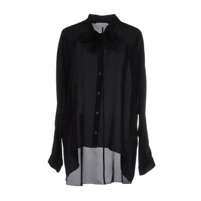 パトリツィア ペペ PATRIZIA PEPE シャツ ブラック 40 シルク 100% シャツ