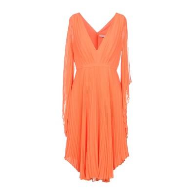 ホルストン・ヘリテージ HALSTON ミニワンピース&ドレス オレンジ 0 ポリエステル 100% ミニワンピース&ドレス