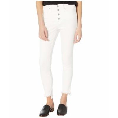 """メイドウェル レディース デニムパンツ ボトムス 10"""" High-Rise Skinny Jeans in Pure White Pure White"""