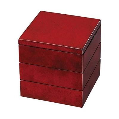 紀州塗り 4.5寸 三段 重箱 ななこ 運動会 大型 弁当箱 おしゃれ 3段 お重箱 かわいい おせち 正月 花見
