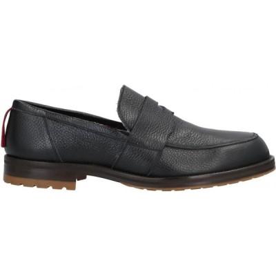 アティモネリ ATTIMONELLI'S メンズ ローファー シューズ・靴 Loafers Black