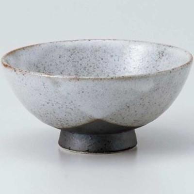 茶碗/ 志野塗分中平 /業務用 家庭用 Rice bowl