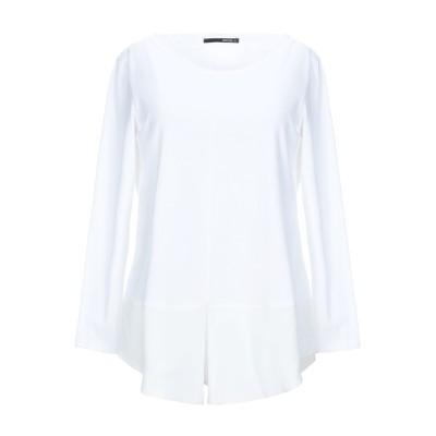 TORTONA 21 T シャツ ホワイト 40 レーヨン 45% / コットン 45% / ポリウレタン 10% / シルク T シャツ