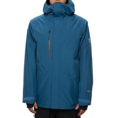 シックスエイトシックス メンズ ジャケット&ブルゾン アウター 686 GLCR GORE-TEX Core Jacket Blue Storm