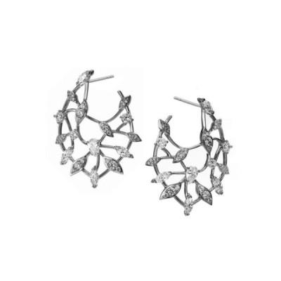 エリオット ダノリ レディース ピアス・イヤリング アクセサリー Leaf Front-Back Earring