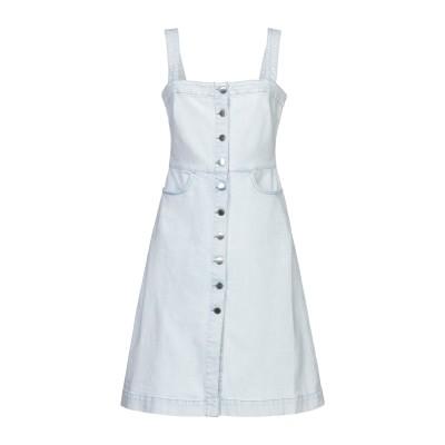 ステラ マッカートニー STELLA McCARTNEY ミニワンピース&ドレス ブルー 38 コットン 98% / ポリウレタン 2% ミニワンピ