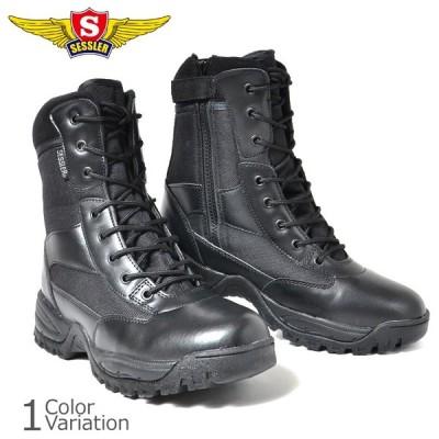 SESSLER(セスラ) COMBAT TACTICAL ZIP BOOTS コンバット タクティカル ブーツ 【中田商店】 A-2030