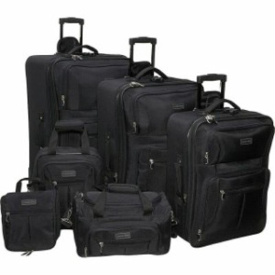 Geoffrey Beene Luggage  旅行用品 キャリーバッグ Geoffrey Beene Luggage 6 Piece Ebony Luggage Set