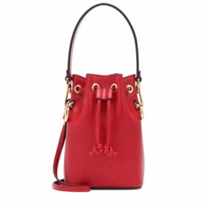 フェンディ Fendi レディース バッグ バケットバッグ Mon Tresor Mini leather bucket bag Fragola/Oro Soft